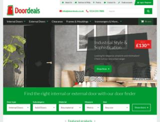 doordeals.co.uk screenshot