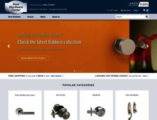 doorhardwarecenter.com screenshot