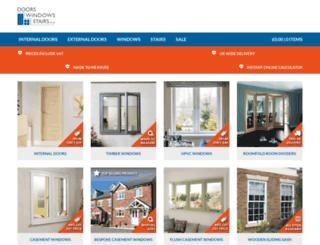 doorswindowsstairs.co.uk screenshot