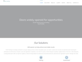 doortraining.com.sa screenshot