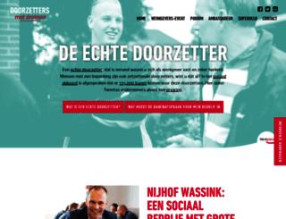 doorzettersmetdromen.nl screenshot