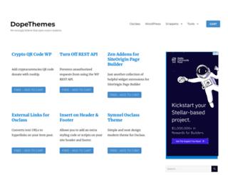 dopethemes.com screenshot
