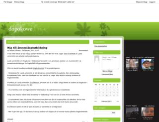 dopokowe.bloggplatsen.se screenshot