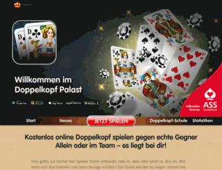 doppelkopf-palast.de screenshot