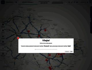 dopravniinfo.cz screenshot