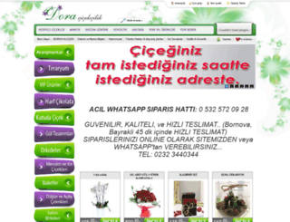 doracicekcilik.com screenshot
