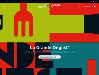 dordogne-perigord-tourisme.fr screenshot