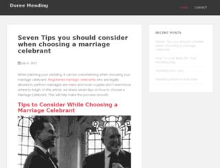 doreemending.com.au screenshot