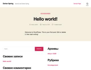 dorianspring.ru screenshot