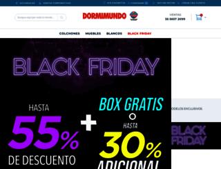 dormimundo.com.mx screenshot