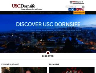 dornsifecms.usc.edu screenshot