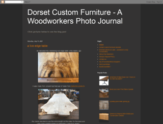 dorsetcustomfurniture.blogspot.com screenshot
