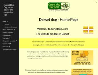 dorsetdog.com screenshot