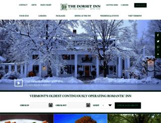 dorsetinn.com screenshot