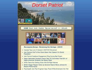 dorsetpatriot.net screenshot