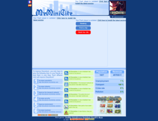 doryiskom.myminicity.com screenshot