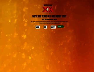 dosequis.com screenshot