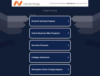 dosgov-bd.org screenshot