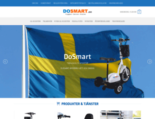 dosmart.se screenshot