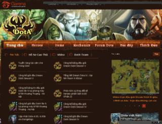 dota.garena.vn screenshot