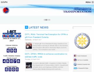 dotc.gov.ph screenshot