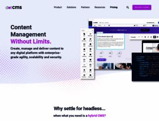 dotcms.org screenshot