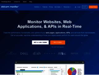 dotcom-monitor.com screenshot