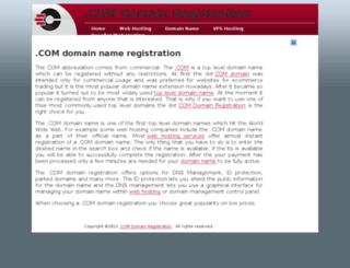 dotcomdomainsregistration.com screenshot