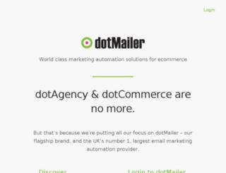 dotcommerce.co.uk screenshot