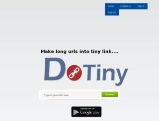 dotiny.com screenshot