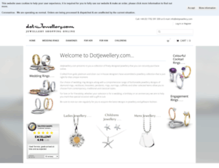 dotjewellery.com screenshot