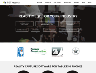 dotproduct3d.com screenshot