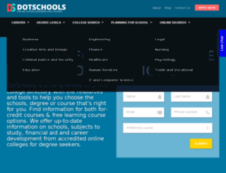dotschools.com screenshot