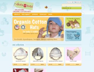 dotsontots.com screenshot