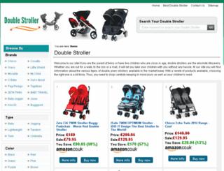 doublestroller.org.uk screenshot