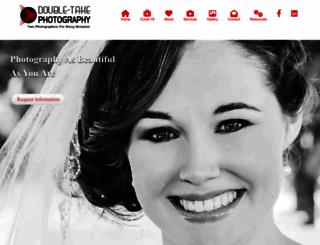 doubletakephotography.com screenshot
