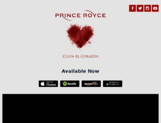 doublevision.princeroyce.com screenshot