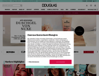 douglas.ch screenshot