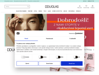 douglas.si screenshot