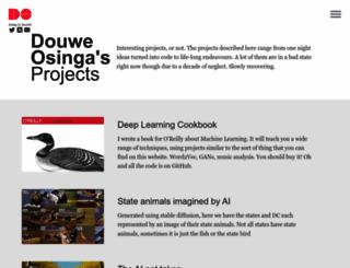 douweosinga.com screenshot