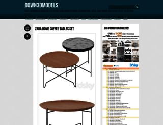 down3dmodels.com screenshot