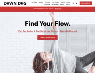 downdogyoga.com screenshot