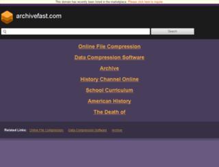 download.archivefast.com screenshot