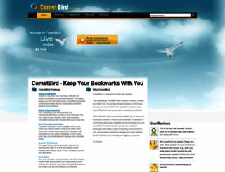 download.cometbird.com screenshot