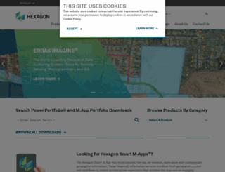 download.hexagongeospatial.com screenshot