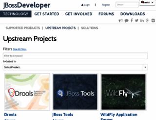 download.jboss.org screenshot