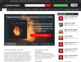 download.praisecharts.com screenshot