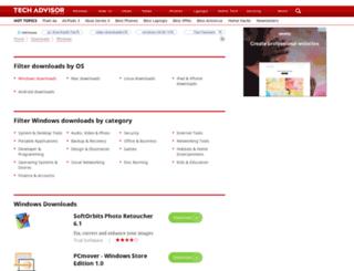 download.techworld.com screenshot