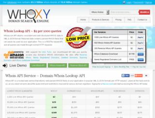 download.whoxy.com screenshot