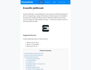 downloadevasion.org screenshot